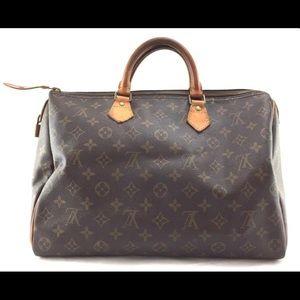 Speedy 35. Louis Vuitton. Vintage.